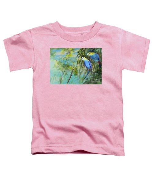 Two Pale-faced Rosellas Toddler T-Shirt
