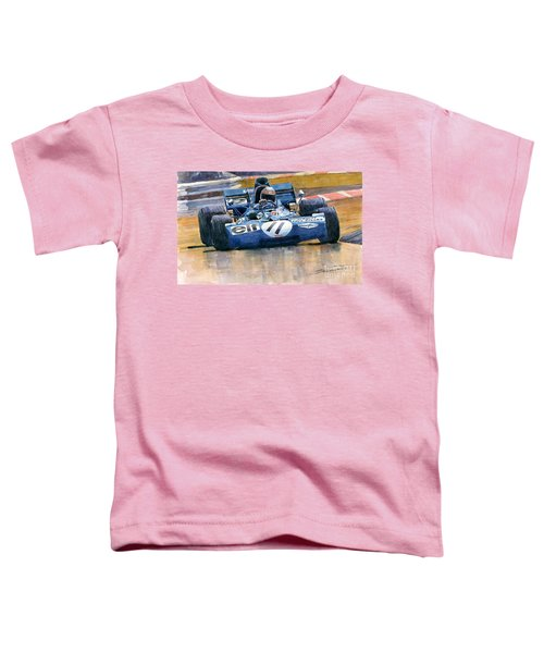 Tyrrell Ford 003 Jackie Stewart 1971 French Gp Toddler T-Shirt