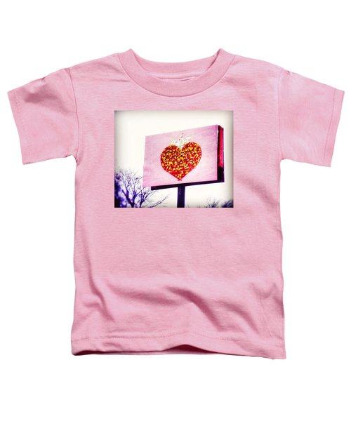 Tyson's Tacos Heart Toddler T-Shirt
