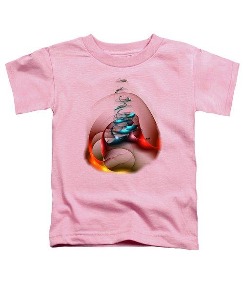 Up In The Air  Toddler T-Shirt by Anastasiya Malakhova