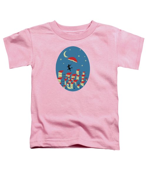 Upton The Cat And His Evening Adventures Toddler T-Shirt