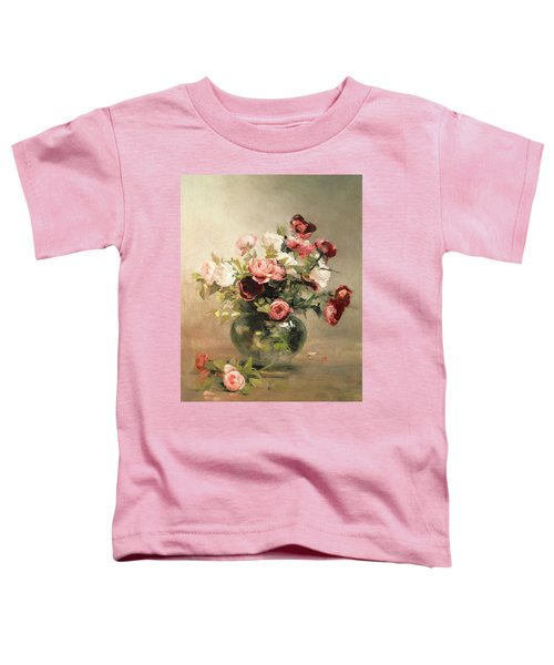 Vase With Roses Toddler T-Shirt