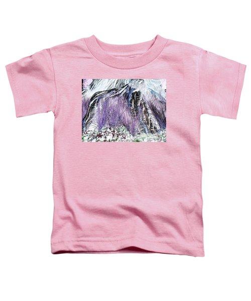 Venus Blue Garden Toddler T-Shirt