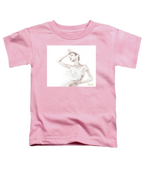 Viktory In White - Feathered Toddler T-Shirt