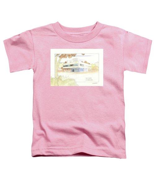Villa Savoye Le Corbusier Toddler T-Shirt