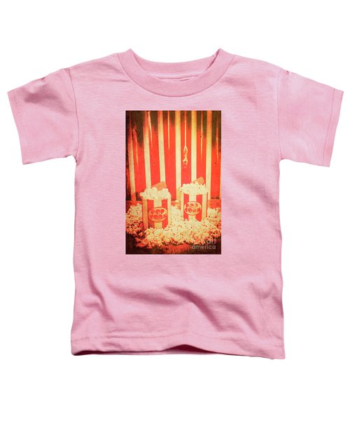 Vintage Classical Cinema Interval Concept Toddler T-Shirt