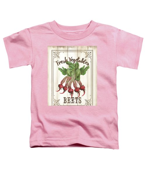 Vintage Fresh Vegetables 1 Toddler T-Shirt