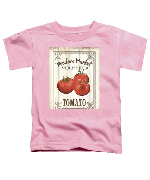 Vintage Fresh Vegetables 4 Toddler T-Shirt