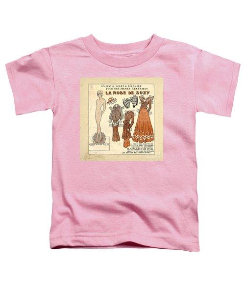 Vintage Paper Doll Toddler T-Shirt