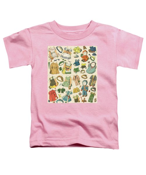 Vintage Paper Dolls  Toddler T-Shirt