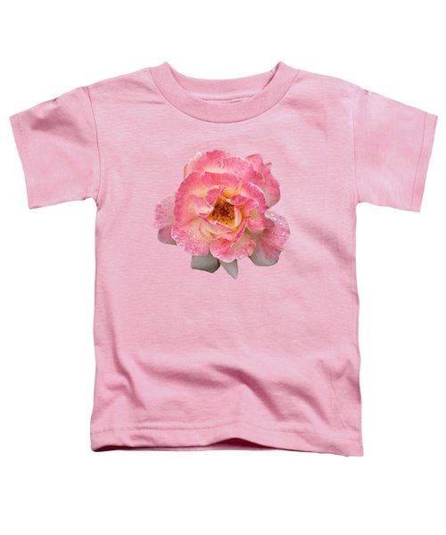 Vintage Rose Square Toddler T-Shirt