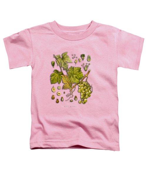 Vitis Vinifera Toddler T-Shirt by Justyna JBJart