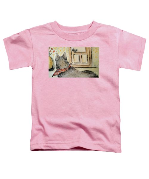 Waiting For The Humans Toddler T-Shirt