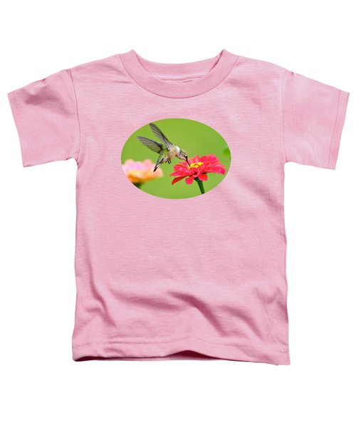 Waiting In The Wings Toddler T-Shirt by Christina Rollo