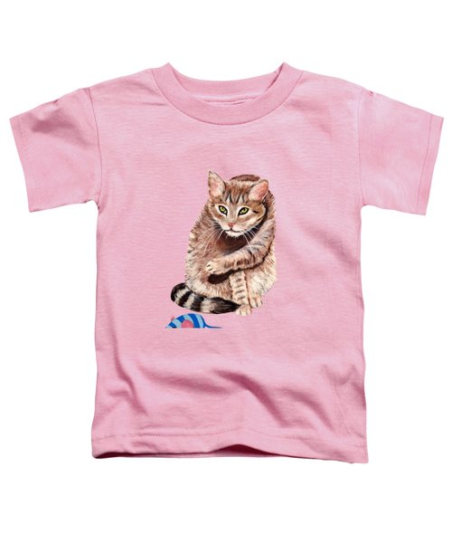 Want To Play Toddler T-Shirt by Anastasiya Malakhova