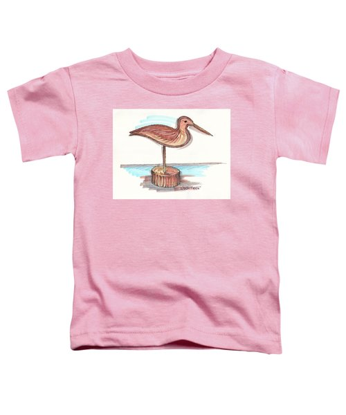 Water Fowl Motif #4 Toddler T-Shirt