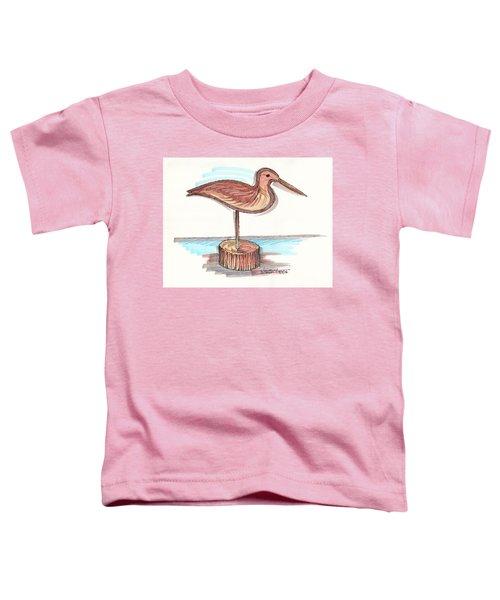 Water Fowl Motif #4 Toddler T-Shirt