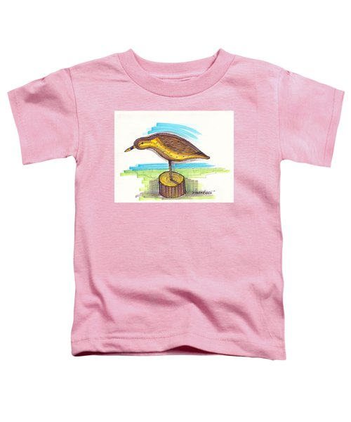 Water Fowl Motif #7 Toddler T-Shirt