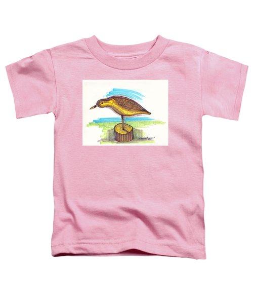 Water Fowl Motif #7 Toddler T-Shirt