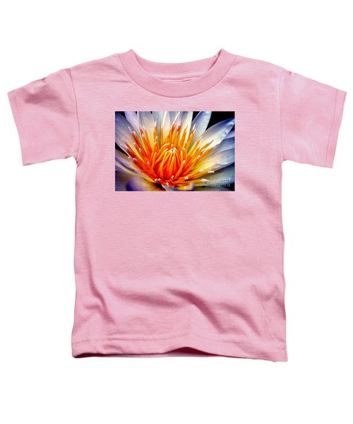 Water Lily Flower Toddler T-Shirt