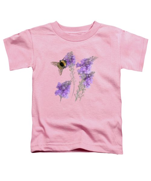 Watercolor Bumble Bee Toddler T-Shirt