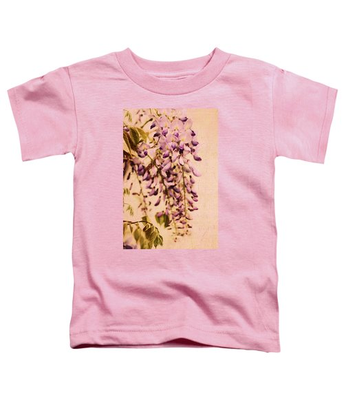 Watercolor Wisteria Toddler T-Shirt