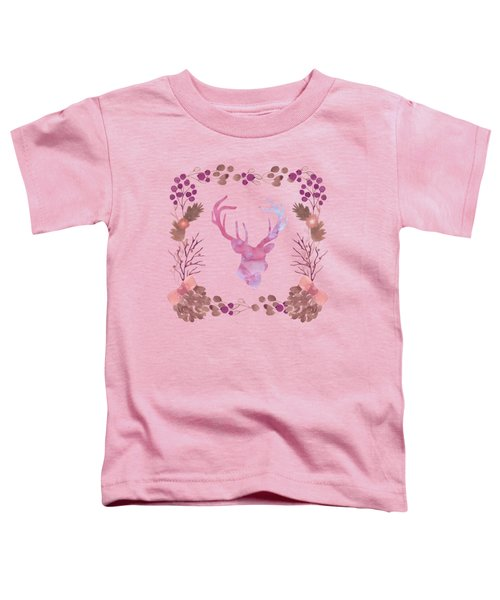 Watercolors In The Wilderness Toddler T-Shirt