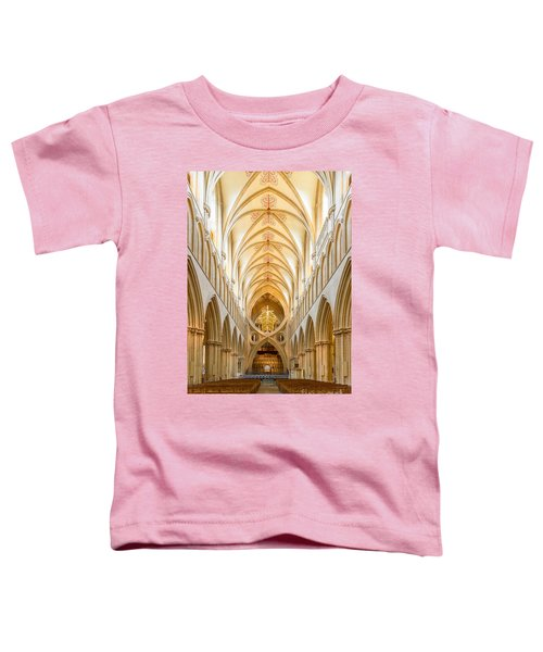 Wells Cathedral Nave Toddler T-Shirt