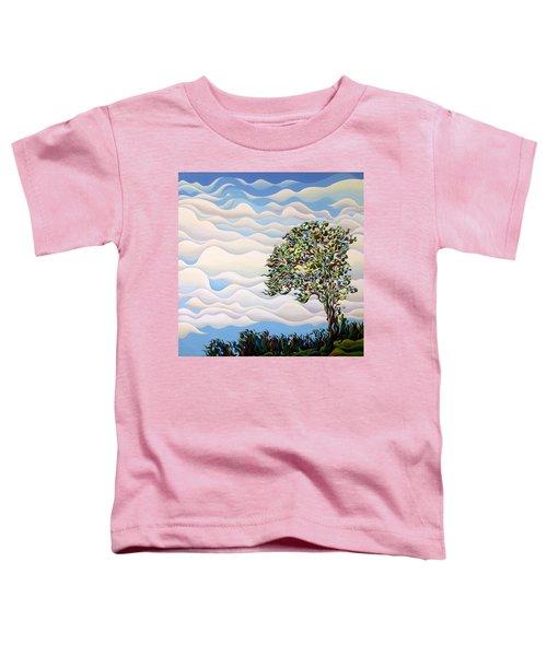 Westward Yearning Tree Toddler T-Shirt