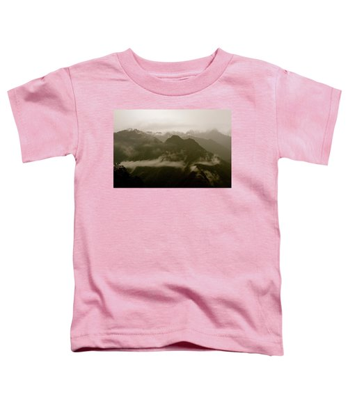 Whispers In The Andes Mountains Toddler T-Shirt