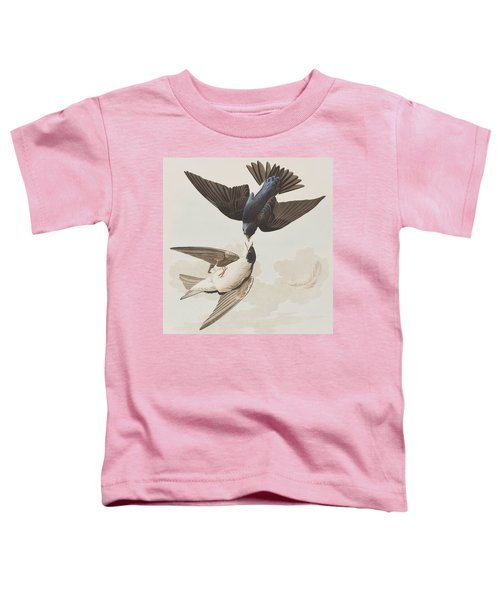 White-bellied Swallow Toddler T-Shirt