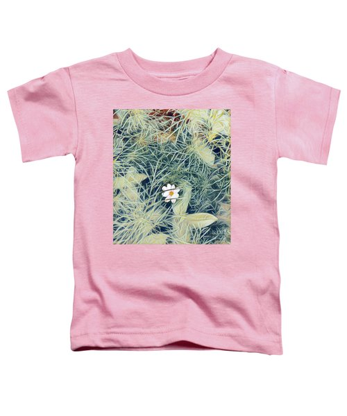 White Cosmo Toddler T-Shirt