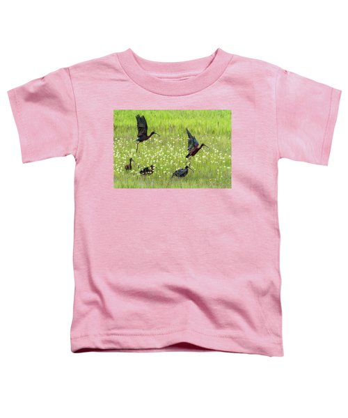 White-faced Ibis Rising, No. 1 Toddler T-Shirt