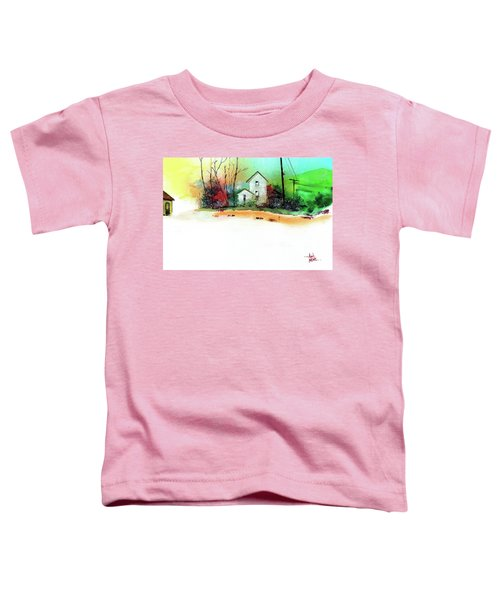 White Houses Toddler T-Shirt