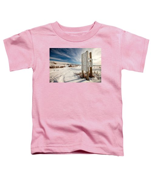 Who Lives Where Toddler T-Shirt