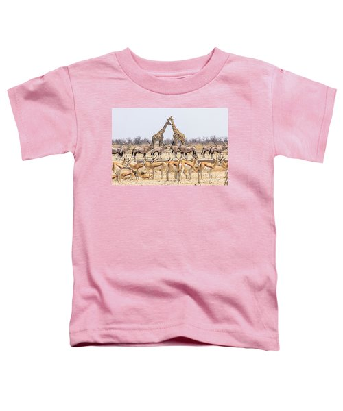 Wild Animals Pyramid Toddler T-Shirt