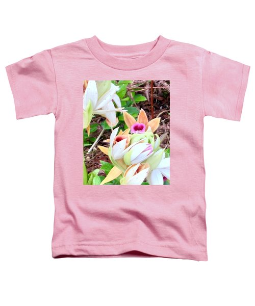 Wild Orchids In Pastel Toddler T-Shirt