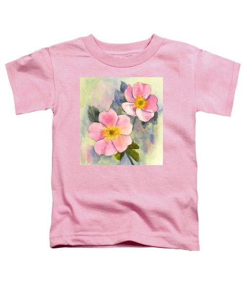 Wild Roses - Glacier Toddler T-Shirt