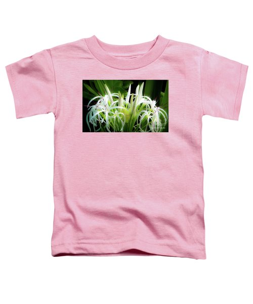 Wildflowers Of Hawaii Toddler T-Shirt