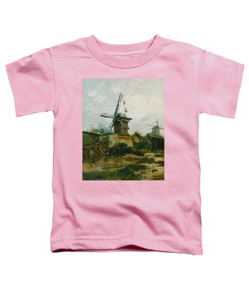 Windmills On Montmartre Toddler T-Shirt