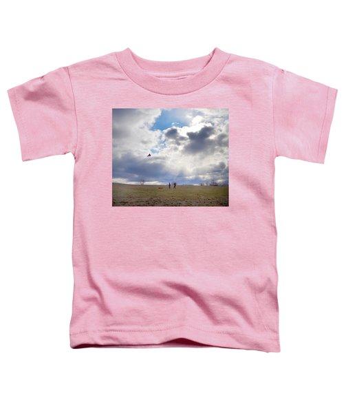 Windy Kite Day Toddler T-Shirt