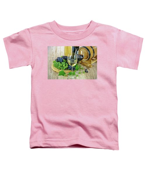 Wine Tasting Toddler T-Shirt