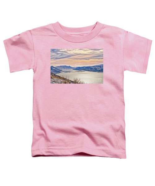 Winter At Horsetooth Reservior Toddler T-Shirt