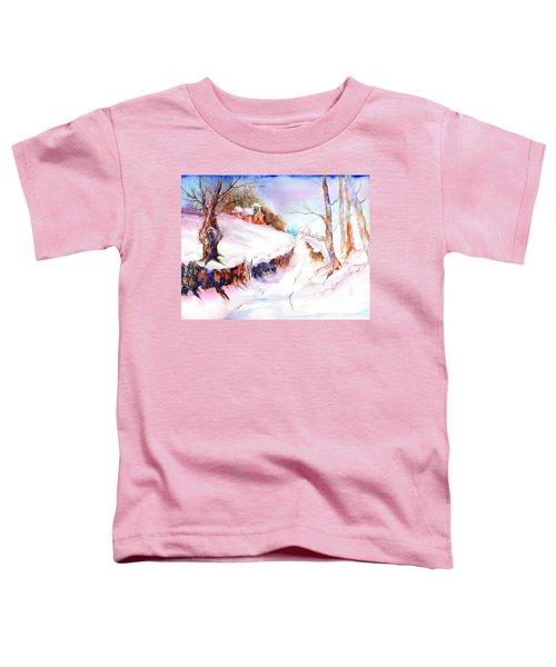 Winter Snow Toddler T-Shirt
