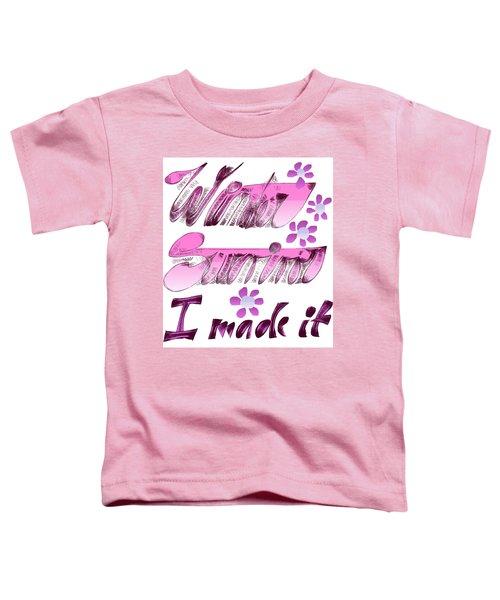 Winter Survivor Toddler T-Shirt