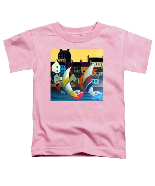 With The Wind In Kinsale, West Cork Toddler T-Shirt