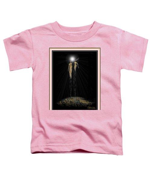 Women Chanting - Full Moon On The Mountain Toddler T-Shirt