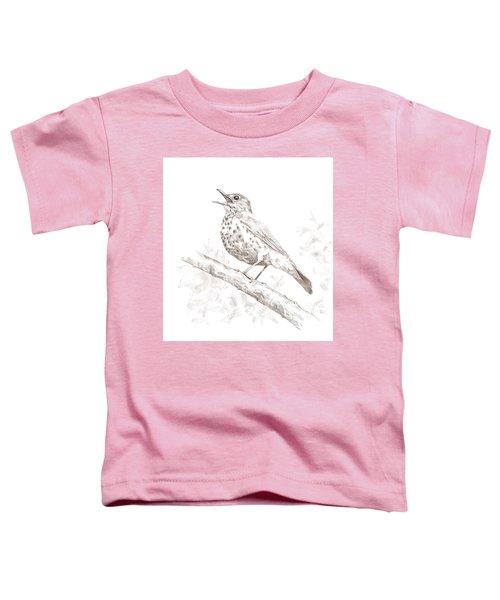 Wood Thrush Toddler T-Shirt