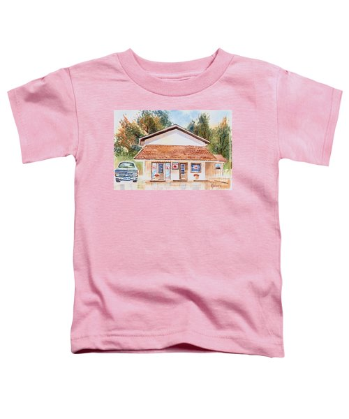 Woodcock Insurance In Watercolor  W406 Toddler T-Shirt by Kip DeVore