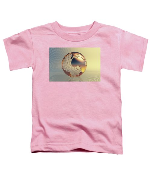 World Global Business Background Toddler T-Shirt